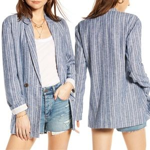 Treasure & Bond Relaxed Double Breasted Blazer